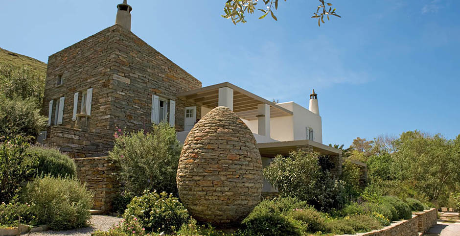 An Old Farm With Vineyards And Olive Groves In The Hilly Landscape Close To Beach Port Of Island Kea Beautiful Self Catering Cottages