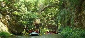 Rafting Lousios Gorge